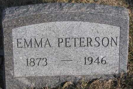 PETERSON, EMMA - Sanborn County, South Dakota | EMMA PETERSON - South Dakota Gravestone Photos
