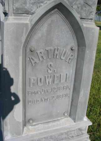 POWELL, ARTHUR S. - Sanborn County, South Dakota | ARTHUR S. POWELL - South Dakota Gravestone Photos