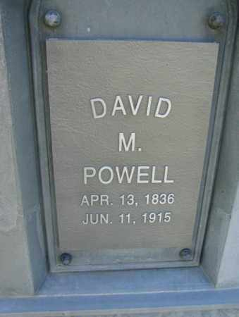 POWELL, DAVID M. - Sanborn County, South Dakota | DAVID M. POWELL - South Dakota Gravestone Photos