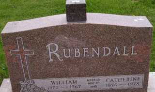 RUBENDALL, CATHERINE - Sanborn County, South Dakota | CATHERINE RUBENDALL - South Dakota Gravestone Photos