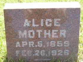 RUBERT, ALICE - Sanborn County, South Dakota | ALICE RUBERT - South Dakota Gravestone Photos
