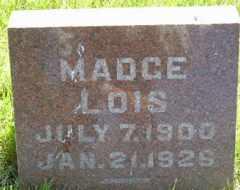 RUBERT, MADGE LOIS - Sanborn County, South Dakota   MADGE LOIS RUBERT - South Dakota Gravestone Photos