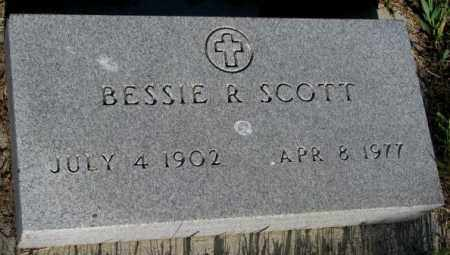 SCOTT, BESSIE R. - Sanborn County, South Dakota | BESSIE R. SCOTT - South Dakota Gravestone Photos