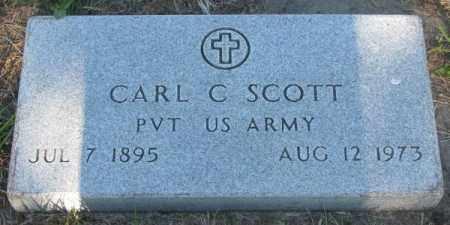 SCOTT, CARL C. - Sanborn County, South Dakota | CARL C. SCOTT - South Dakota Gravestone Photos