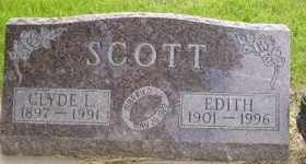 SCOTT, CLYDE L - Sanborn County, South Dakota | CLYDE L SCOTT - South Dakota Gravestone Photos
