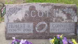 SCOTT, HUBERT B - Sanborn County, South Dakota | HUBERT B SCOTT - South Dakota Gravestone Photos