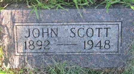 SCOTT, JOHN - Sanborn County, South Dakota | JOHN SCOTT - South Dakota Gravestone Photos