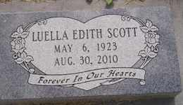 SCOTT, LUELLA EDITH - Sanborn County, South Dakota | LUELLA EDITH SCOTT - South Dakota Gravestone Photos