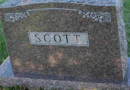 SCOTT, PLOT - Sanborn County, South Dakota | PLOT SCOTT - South Dakota Gravestone Photos