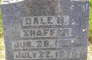 SHAFFER, DALE - Sanborn County, South Dakota | DALE SHAFFER - South Dakota Gravestone Photos