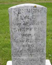 SHAFFER, KENNETH LYLE - Sanborn County, South Dakota | KENNETH LYLE SHAFFER - South Dakota Gravestone Photos