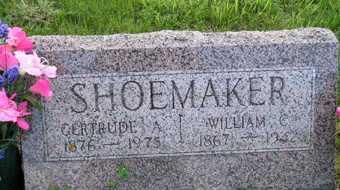 SHOEMAKER, WILLIAM C - Sanborn County, South Dakota   WILLIAM C SHOEMAKER - South Dakota Gravestone Photos