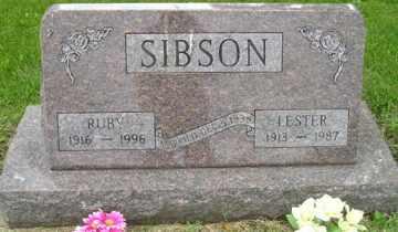 SIBSON, RUBY - Sanborn County, South Dakota   RUBY SIBSON - South Dakota Gravestone Photos