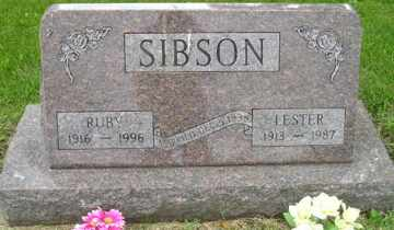 SIBSON, RUBY - Sanborn County, South Dakota | RUBY SIBSON - South Dakota Gravestone Photos