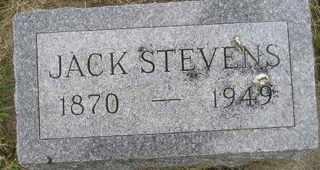 STEVENS, JACK - Sanborn County, South Dakota | JACK STEVENS - South Dakota Gravestone Photos