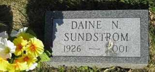 SUNDSTROM, DAINE N - Sanborn County, South Dakota | DAINE N SUNDSTROM - South Dakota Gravestone Photos