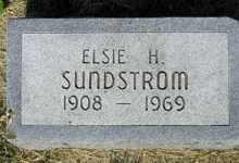 SUNDSTROM, ELSIE H - Sanborn County, South Dakota | ELSIE H SUNDSTROM - South Dakota Gravestone Photos