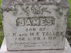 TALLEY, JAMES - Sanborn County, South Dakota | JAMES TALLEY - South Dakota Gravestone Photos