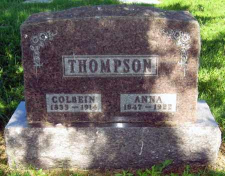 THOMPSON, CALBEIN - Sanborn County, South Dakota | CALBEIN THOMPSON - South Dakota Gravestone Photos