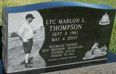 THOMPSON, MARLON L. - Sanborn County, South Dakota | MARLON L. THOMPSON - South Dakota Gravestone Photos