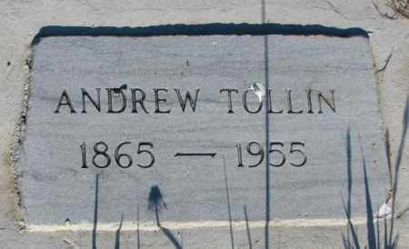 TOLLIN, ANDREW - Sanborn County, South Dakota | ANDREW TOLLIN - South Dakota Gravestone Photos