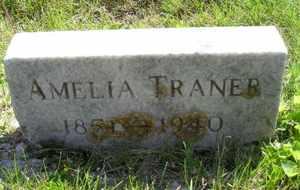 TRANER, AMELIA - Sanborn County, South Dakota   AMELIA TRANER - South Dakota Gravestone Photos