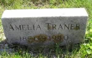 TRANER, AMELIA - Sanborn County, South Dakota | AMELIA TRANER - South Dakota Gravestone Photos