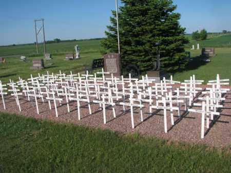 *TRINITY, VET'S FIELD OF CROSS'S - Sanborn County, South Dakota | VET'S FIELD OF CROSS'S *TRINITY - South Dakota Gravestone Photos
