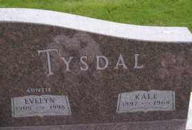 TYSDAL, EVELYN - Sanborn County, South Dakota | EVELYN TYSDAL - South Dakota Gravestone Photos