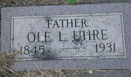 UHRE, OLE L. - Sanborn County, South Dakota | OLE L. UHRE - South Dakota Gravestone Photos