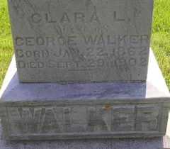 WALKER, CLARA L - Sanborn County, South Dakota | CLARA L WALKER - South Dakota Gravestone Photos