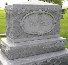 WARD, FAMILY STONE - Sanborn County, South Dakota   FAMILY STONE WARD - South Dakota Gravestone Photos