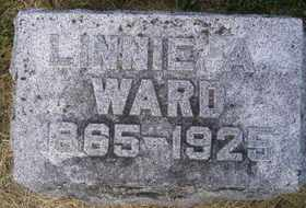 WARD, LINNIE A - Sanborn County, South Dakota | LINNIE A WARD - South Dakota Gravestone Photos
