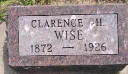 WISE, CLARENCE H - Sanborn County, South Dakota   CLARENCE H WISE - South Dakota Gravestone Photos