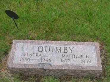 QUIMBY, MATTHEW HALE - Sully County, South Dakota   MATTHEW HALE QUIMBY - South Dakota Gravestone Photos