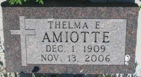 AMIOTTE, THELMA E. - Todd County, South Dakota | THELMA E. AMIOTTE - South Dakota Gravestone Photos