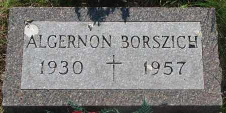 BORSZICH, ALGERNON - Todd County, South Dakota | ALGERNON BORSZICH - South Dakota Gravestone Photos