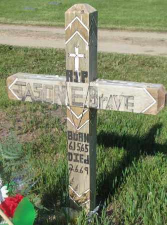 BRAVE, JASON E. - Todd County, South Dakota | JASON E. BRAVE - South Dakota Gravestone Photos