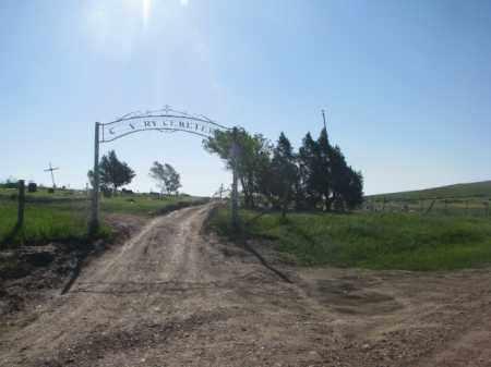 *CALVARY, ENTRANCE - Todd County, South Dakota | ENTRANCE *CALVARY - South Dakota Gravestone Photos