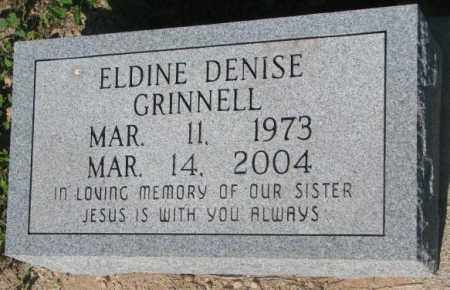 GRINNELL, ELDINE DENISE - Todd County, South Dakota | ELDINE DENISE GRINNELL - South Dakota Gravestone Photos