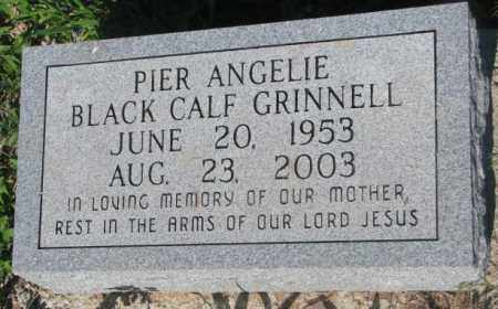 BLACK CALF GRINNELL, PIER ANGELIE - Todd County, South Dakota | PIER ANGELIE BLACK CALF GRINNELL - South Dakota Gravestone Photos