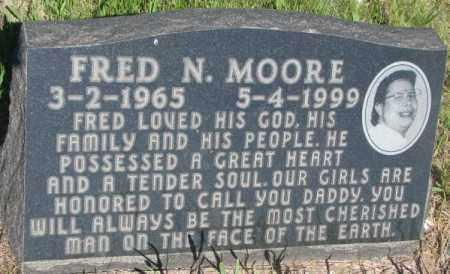 MOORE, FRED N. - Todd County, South Dakota | FRED N. MOORE - South Dakota Gravestone Photos