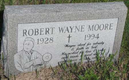 MOORE, ROBERT WAYNE - Todd County, South Dakota | ROBERT WAYNE MOORE - South Dakota Gravestone Photos