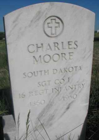 MOORE, CHARLES - Todd County, South Dakota | CHARLES MOORE - South Dakota Gravestone Photos