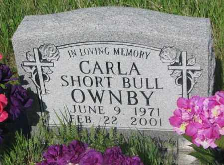 SHORT BULL OWNBY, CARLA - Todd County, South Dakota | CARLA SHORT BULL OWNBY - South Dakota Gravestone Photos