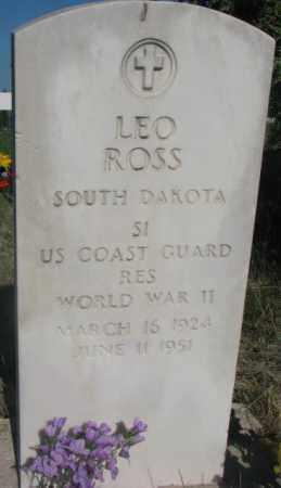 ROSS, LEO - Todd County, South Dakota | LEO ROSS - South Dakota Gravestone Photos