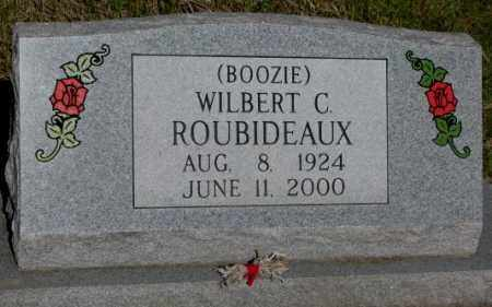 "ROUBIDEAUX, WILBERT C. ""BOOZIE"" - Todd County, South Dakota 