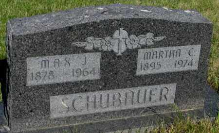 SCHUBAUER, MARTHA C. - Todd County, South Dakota | MARTHA C. SCHUBAUER - South Dakota Gravestone Photos
