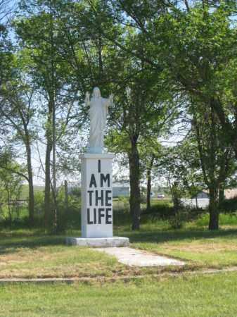 *ST. THOMAS, I AM THE LIFE - Todd County, South Dakota | I AM THE LIFE *ST. THOMAS - South Dakota Gravestone Photos