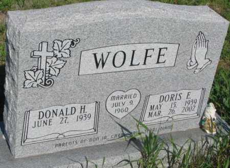 WOLFE, DORIS E. - Todd County, South Dakota | DORIS E. WOLFE - South Dakota Gravestone Photos